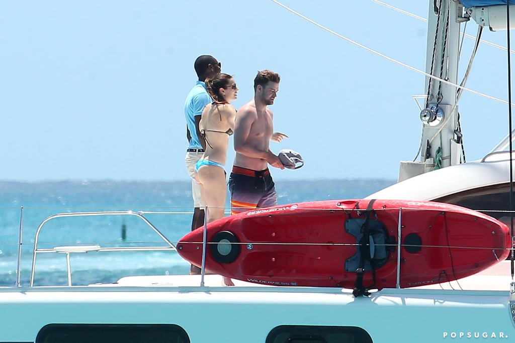 Justin and Jessica's Barbados Bodies Are Off the Charts