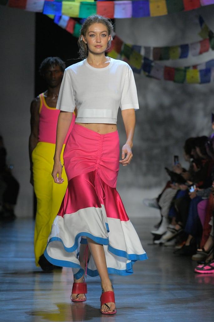Gigi Hadid at Fashion Week Spring 2019