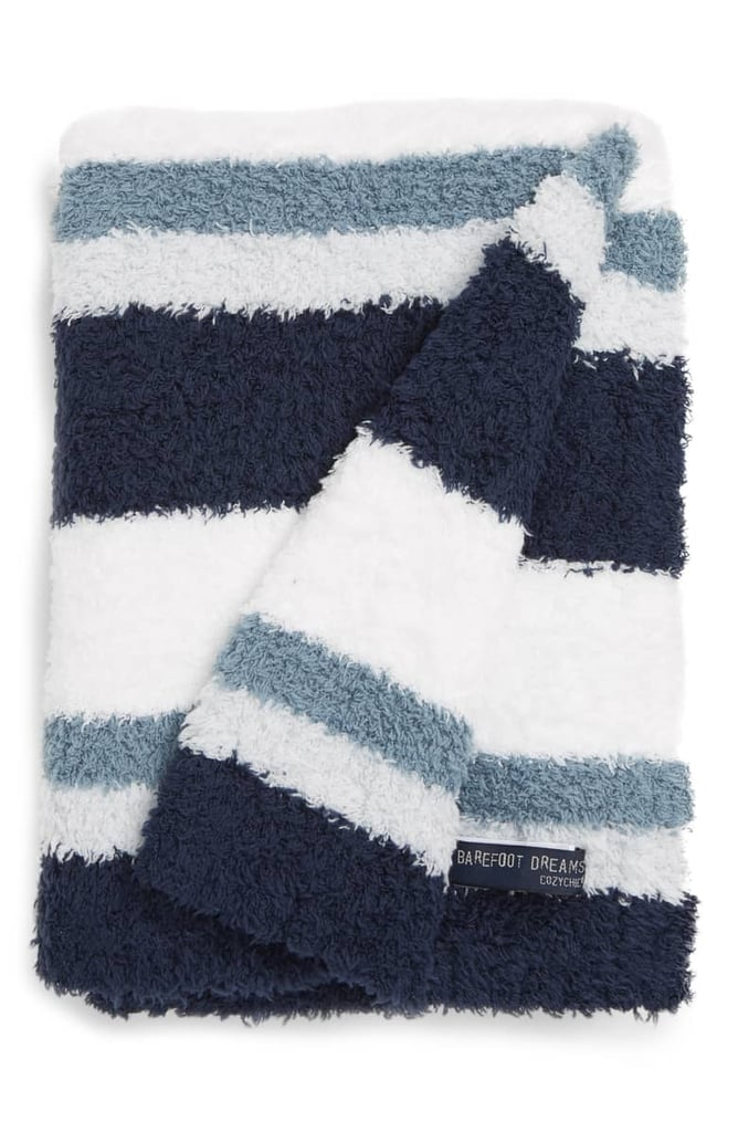 Barefoot Dreams Multi Stripe Stroller Blanket