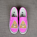 Emoji poop shoes ($55)