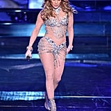 Jennifer Lopez Rocked This Sexy Sheer Look During Her Las Vegas Residency Debut
