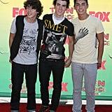 Jonas Brothers Teen Choice Awards Costumes