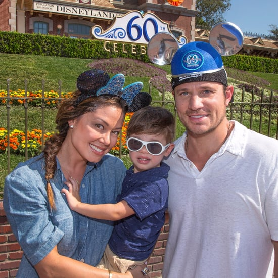 Nick and Vanessa Lachey Family Disneyland Photo
