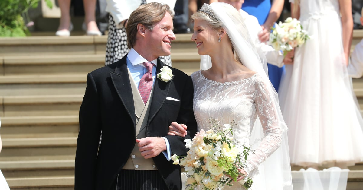 I'm So Overwhelmed By Lady Gabriella Windsor's Veil, I Need a Minute to Take in Her Wedding Dress