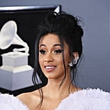 Cardi B Hair and Makeup Grammys 2018