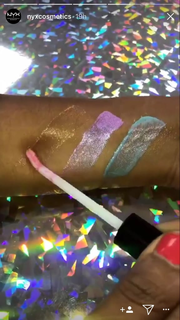 NYX Is Releasing New Chrome Lip Glosses & We Need Them All
