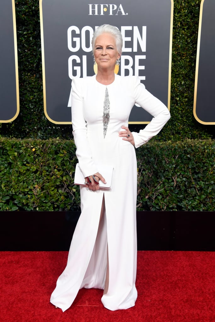 Jamie Lee Curtis at the 2019 Golden Globes