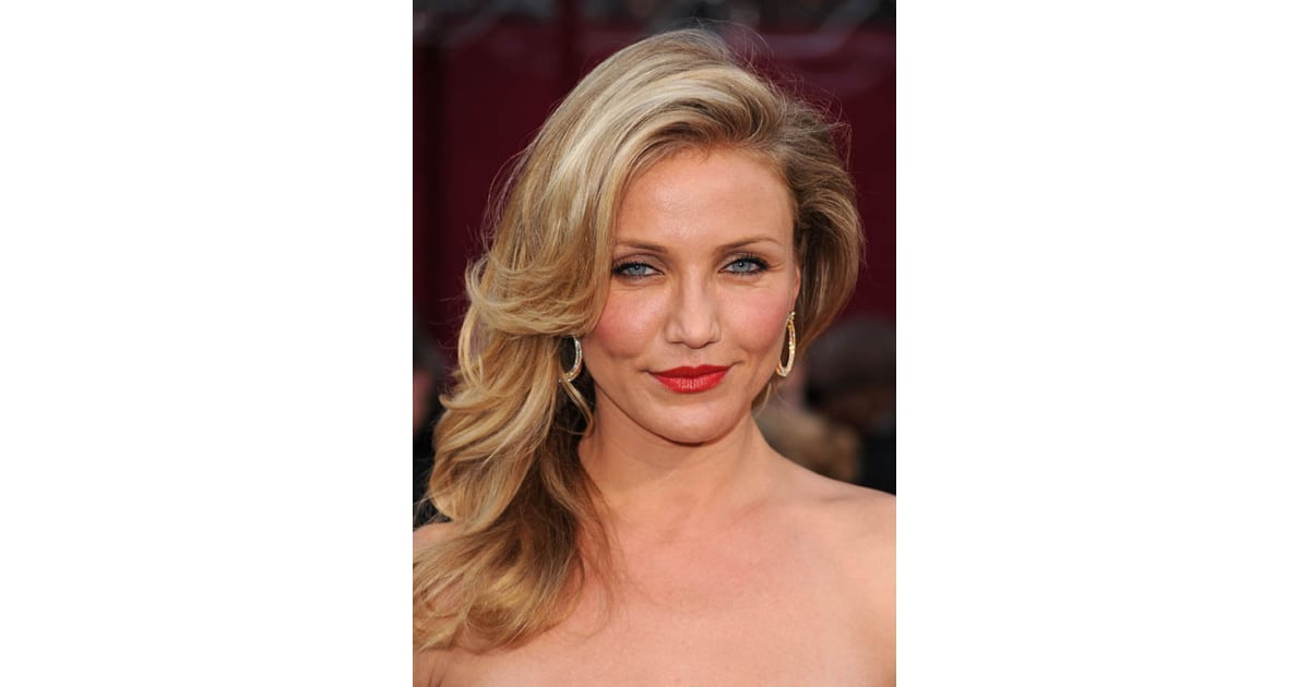 Cameron Diaz Oscars 2010 Pictures And Hair Tutorial