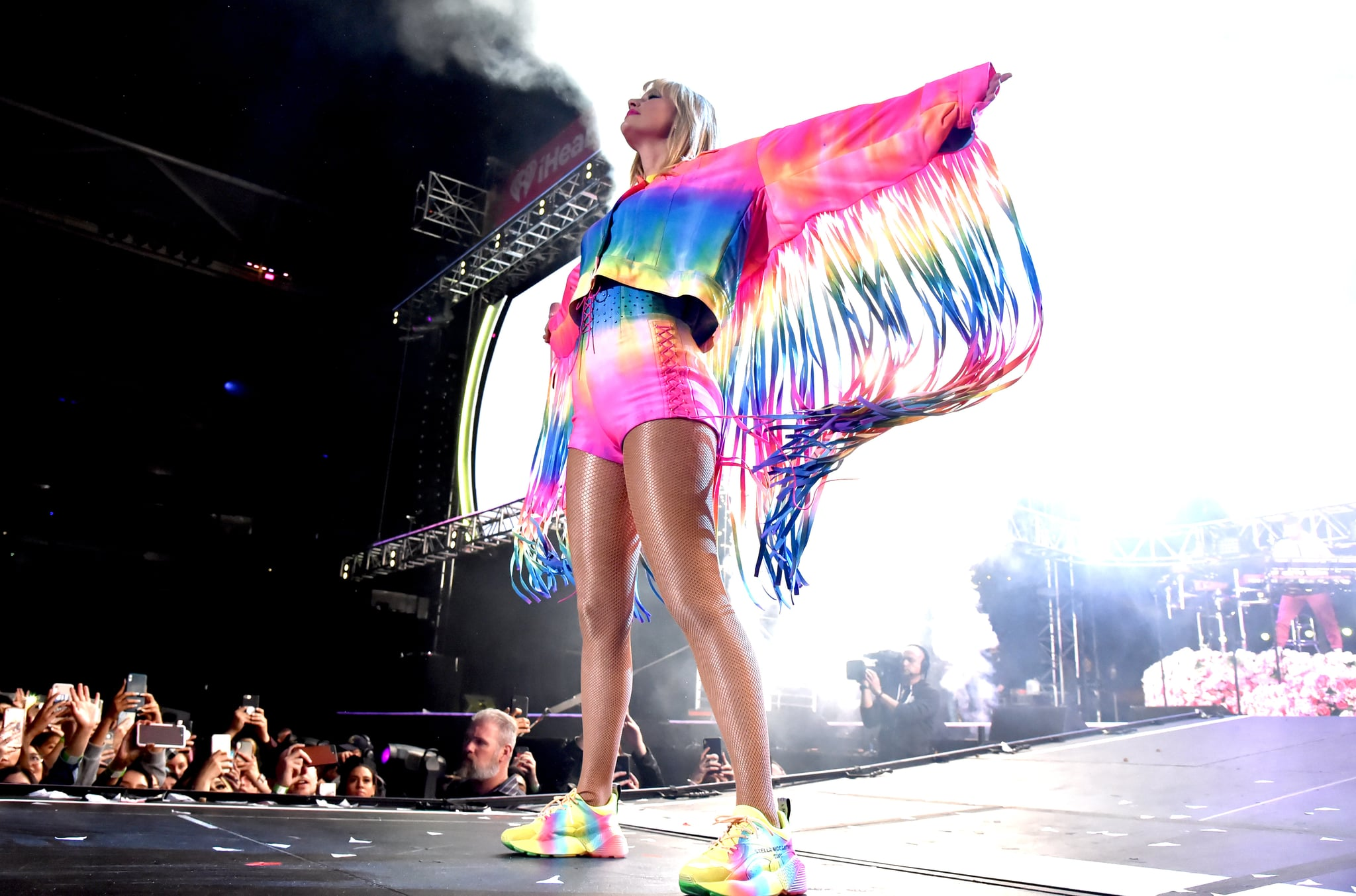 CARSON, CALIFORNIA - JUNE 01: (EDITORIAL USE ONLY. NO COMMERCIAL USE) Taylor Swift performs onstage at 2019 iHeartRadio Wango Tango presented by The JUVÉDERM® Collection of Dermal Fillers at Dignity Health Sports Park on June 01, 2019 in Carson, California. (Photo by Jeff Kravitz/FilmMagic for iHeartMedia)