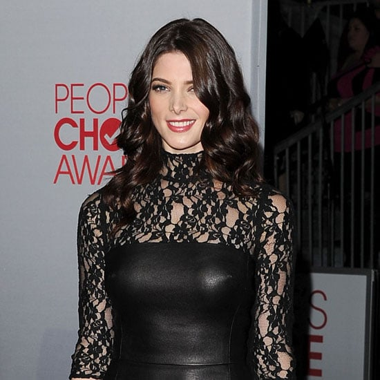Ashley Greene Black Lace Dress Peoples Choice Awards Pictures