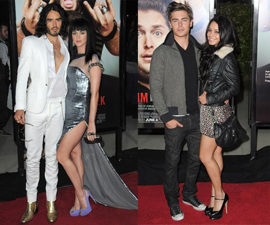 Russell Brand, Katy Perry, Zac Efron, and Vanessa Hudgens Attend Get Him to the Greek LA Premiere
