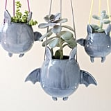 Flying Bat Hanging Plant Holder