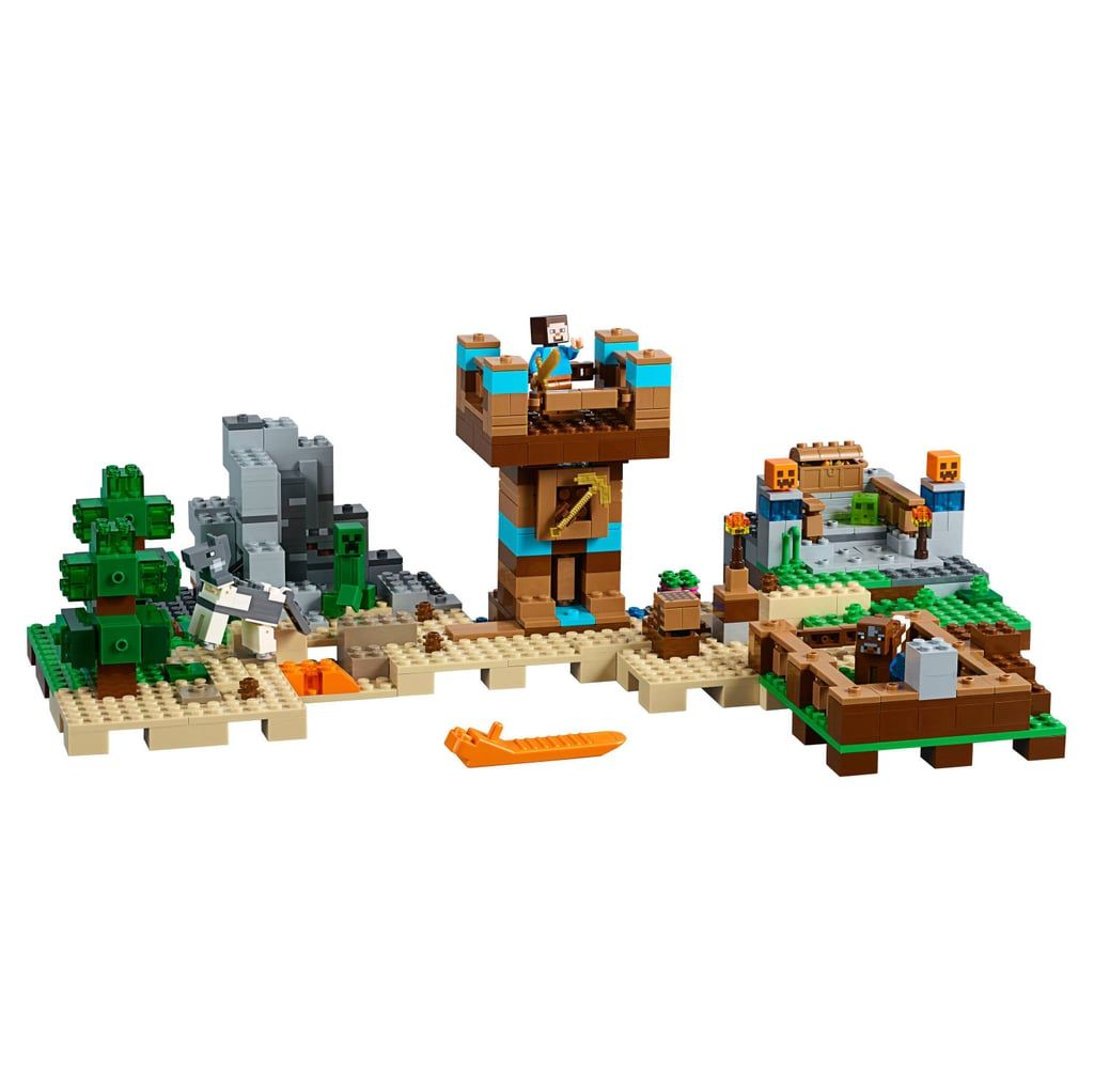 Best Lego Sets Of 2017 Popsugar Family 21134 Minecraft The Waterfall Base