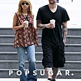 Nicole Richie and Joel Madden picked up coffee in Sydney back in May 2012.