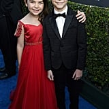 Pictured: Brooklynn Prince and Jacob Tremblay
