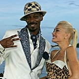 Snoop and Gwen Stefani were named best dressed for charity in 2005.
