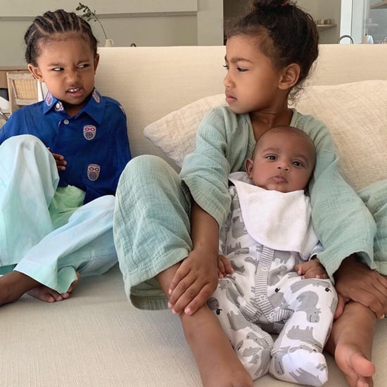 North West Saint West Side-Eye Photos
