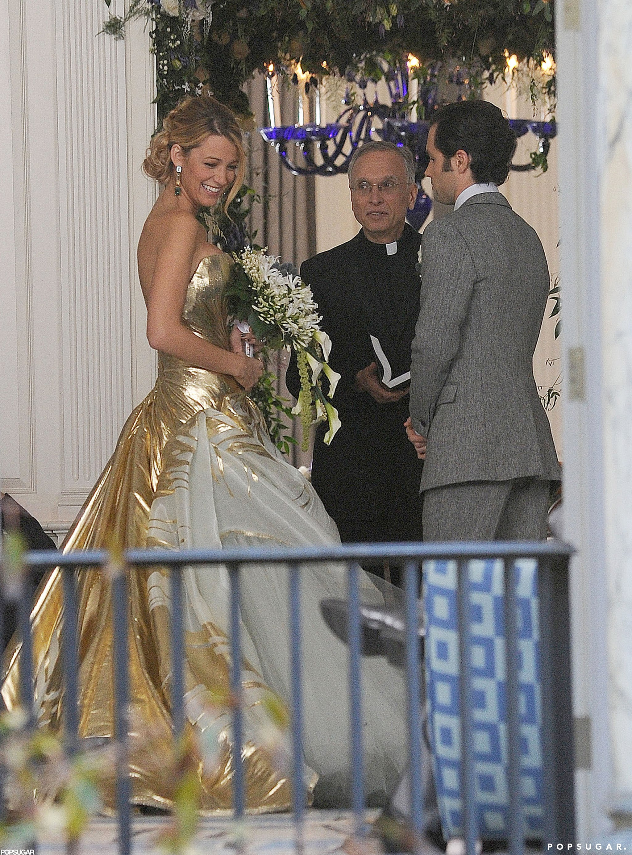 Blake Lively Wedding Dress.Celebrity Entertainment See Blake Lively S Wedding Dress