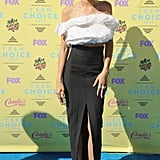 Zendaya chose daring Ashi Studio separates for the Teen Choice Awards in 2015.