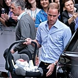 While the pair seemed to handle their first post-baby appearance with ease, it was obvious there were still first-time parent nerves at play. Remember the awkward baby hand-off between Kate and Will? And it's hard to forget the car seat swaddle scandal that further put William in the spotlight. Looking back, it's endearing to see the duo show a hint of that new parent anxiety that everyone experiences. Their demeanour and confidence is possibly the most striking difference between George's birth and that of their two other children. Of course, parents everywhere know the benefits that come from having a little experience.