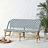Woven Bistro Dining Bench