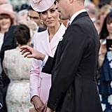Kate Middleton in Pink Alexander McQueen Coat Dress May 2019