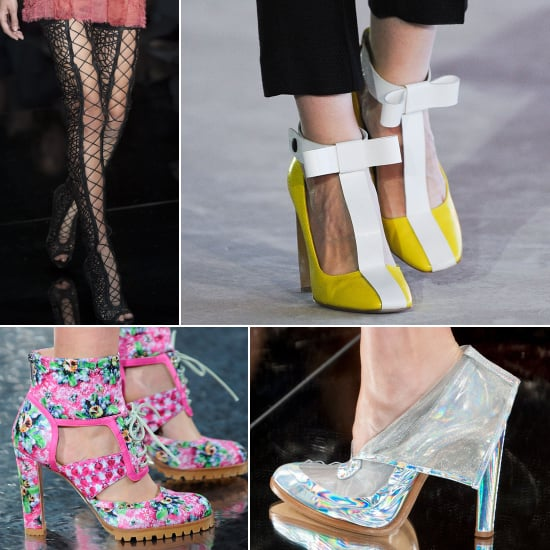 2014 London Fashion Week Shoe Trends