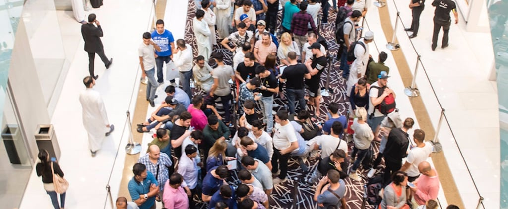 There Was a Mad Rush For the iPhone X in Dubai This Weekend