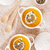 Spiced Pumpkin, Carrot, and Sweet Potato Soup