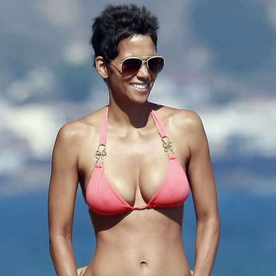 Halle Berry Bikini Arm Workout
