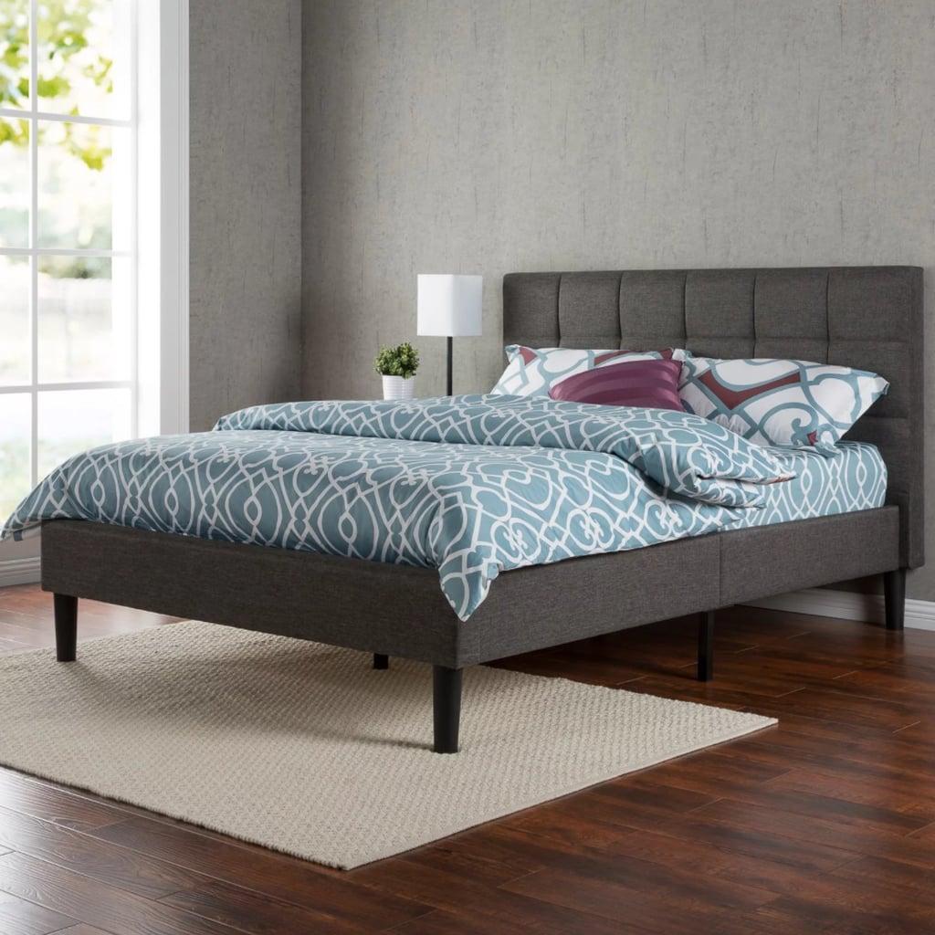Zinus Upholstered Platform Bed
