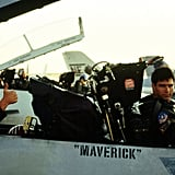 Goose and Maverick From Top Gun