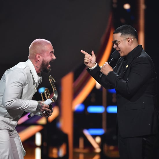 J Balvin Wins Global Icon Award at Premio Lo Nuestro