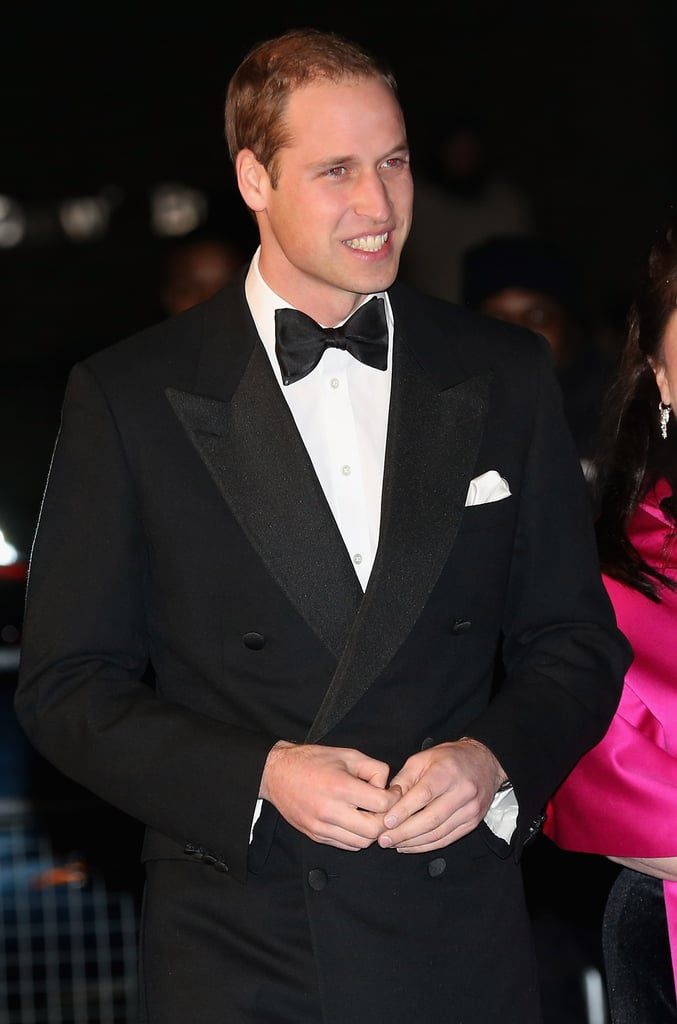 "Prince William wore a tuxedo for the Winter Whites Gala at the Royal Albert Hall in London today. He attended without wife Kate Middleton, who is resting at Kensington Palace after being hospitalized for acute morning sickness caused by her first pregnancy. Kate left the hospital with William by her side on Thursday, following a three-night stay. During her time there, a pair of Australian radio hosts called the hospital as a prank and were able to speak to Kate's nurse. Sadly, just yesterday, news came out that one of the workers involved in transferring the call was found dead. In the wake of the tragic event, the hospital released a letter urging the radio station to take steps to ensure that ""such an incident could never be repeated."""