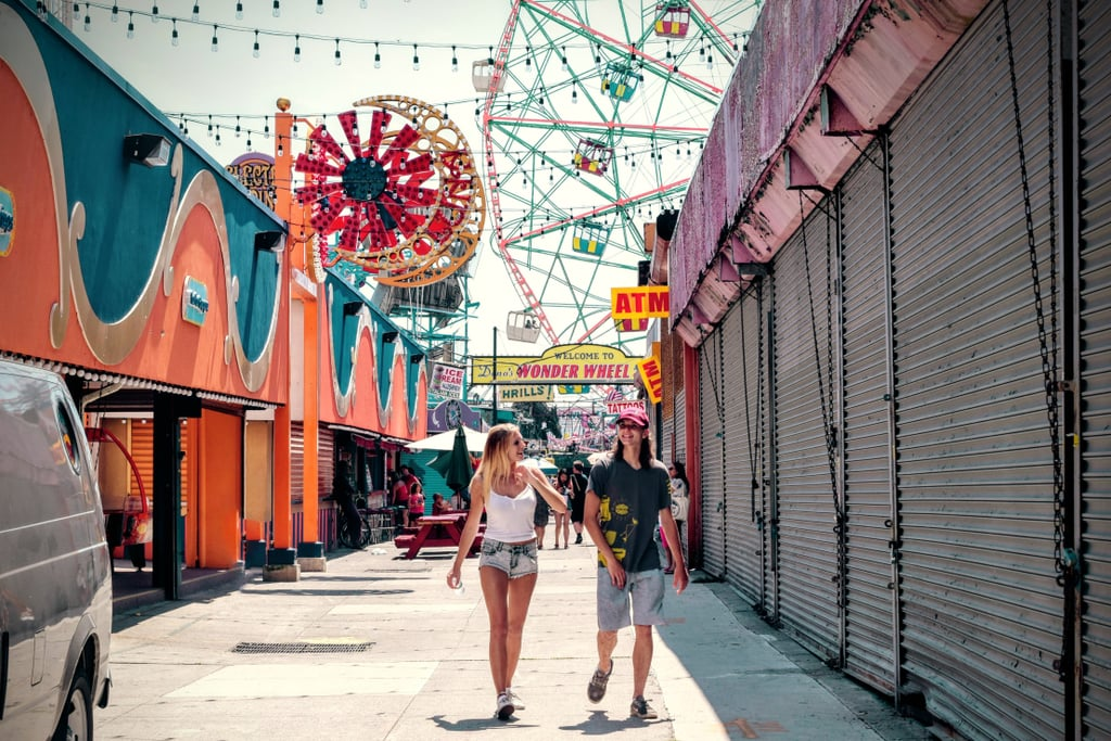 Check out a street fair or carnival.