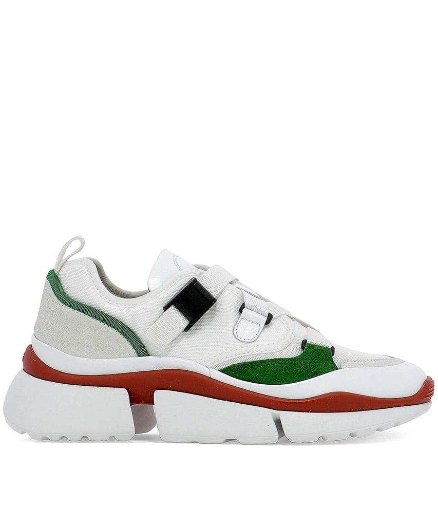 CHLOÉ Women's White Fabric Sneakers ($986)
