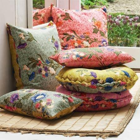 Floral Print Cushions ($33)