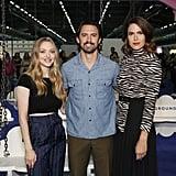 Amanda Seyfried, Milo Ventimiglia, and Mandy Moore