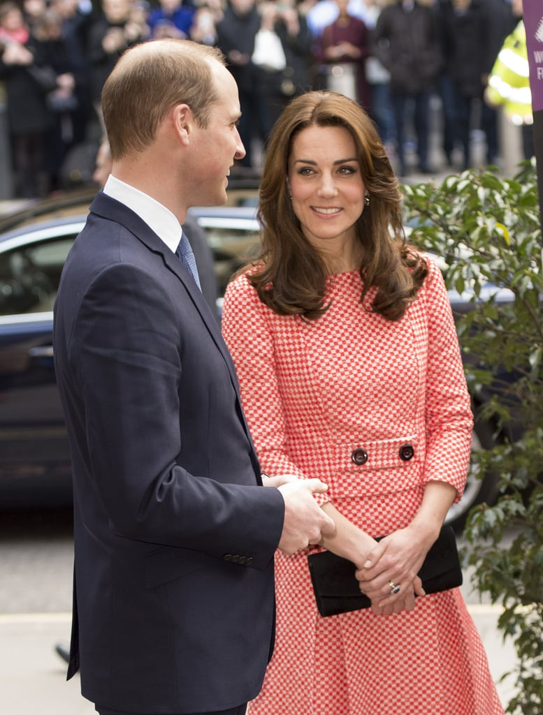 Prince William and Kate Middleton in London March 2016