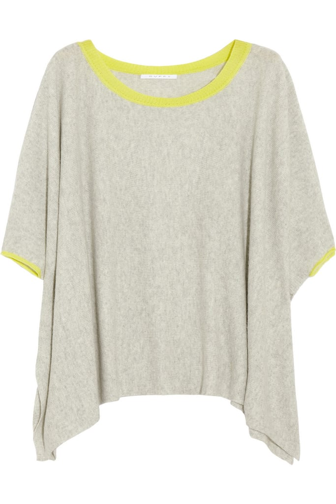 Duffy's Neon-Trimmed Cashmere Sweater ($265) is perfectly lightweight, making it a great layering piece for San Francisco's finicky weather — and the thin pops of lime are subtle yet fun. I'm planning on styling it with boyfriend jeans and gladiator sandals. — Britt Stephens, Style & Trends assistant editor