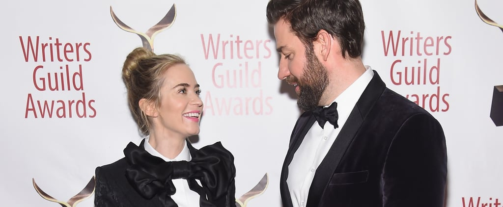 Emily Blunt and John Krasinski in Matching Tuxedos 2019