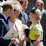 Kate Middleton and Zara Tindall at Coronation Service in 2013