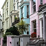 Wander throughout the fashionable neighborhood of Notting Hill.