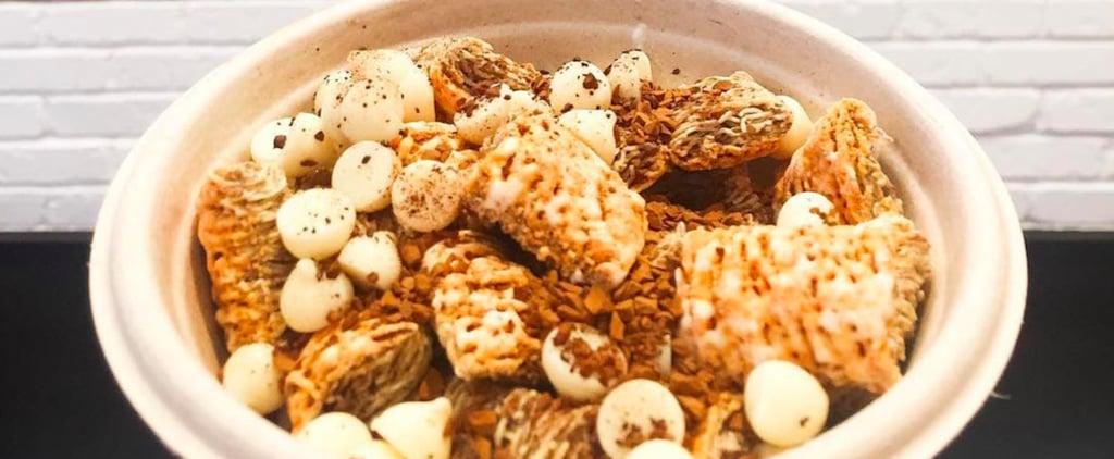 Pumpkin Spice Latte Cereal Bowl