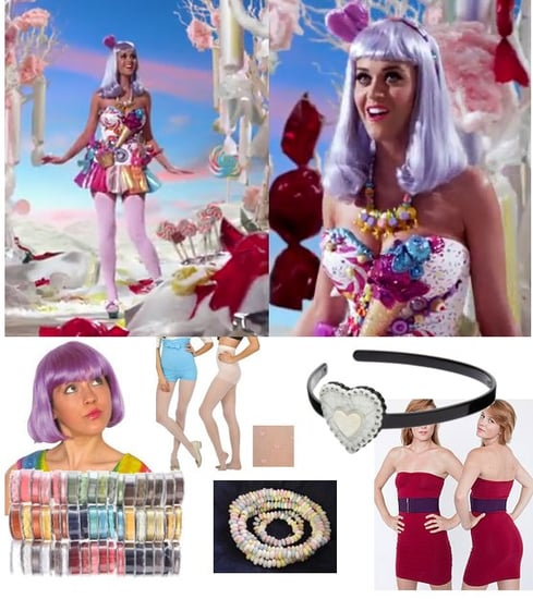 Katy Perry Califonia Gurls Costume Idea for Halloween 2010