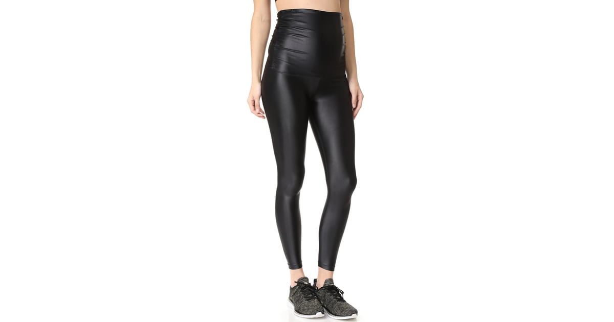 a823f3f51cf55 Koral Activewear Lustrous Maternity Leggings | Best Maternity Workout  Clothes | POPSUGAR Family Photo 7