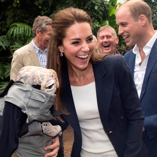 The Duke and Duchess of Cambridge at the Eden Project 2016
