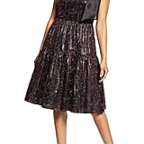 Halogen x Atlantic-Pacific Bow Tinsel A-Line Dress