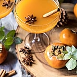 Spiced Persimmon Bourbon Old Fashioned