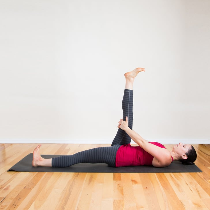 Reclining Hamstring Stretch Stretches To Do In Bed